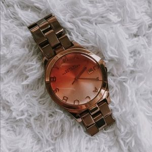 MBMJ Rose-Gold Plated Stainless Steel Quartz Watch
